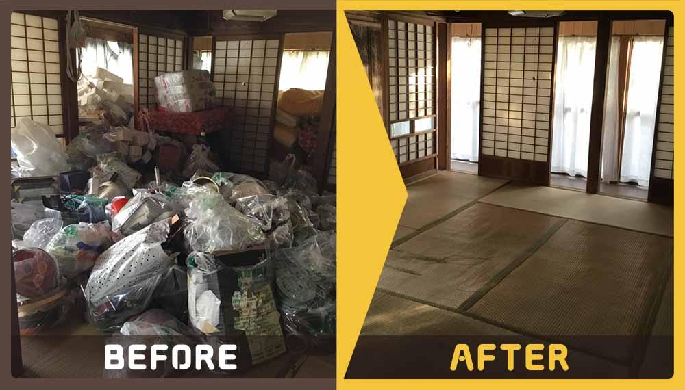 1軒分の家財道具から雑貨までとかなりの量のご不用品を処分することとなったお客様よりご依頼頂きました。