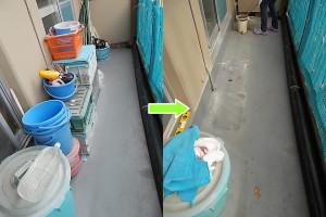 伊丹市西野で学習机、カーペットなど回収のビフォーアフター1
