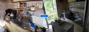 宝塚市で家財道具回収の写真2