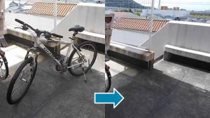 川西市で自転車回収の写真