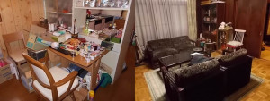 尼崎市で一軒家の不要品回収の写真1