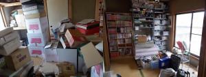 尼崎市で引越し不用品回収のビフォー写真