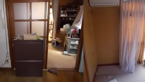伊丹市の1軒家で家具家電回収のアフター写真