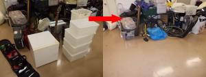 西宮市で冷蔵庫、掃除機など回収写真2