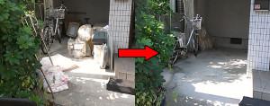 篠山市の一軒屋で家具回収の写真