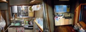 川西市の1軒家で家財道具回収の写真1