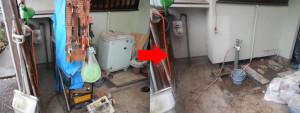 伊丹市の1軒家で粗大ゴミ整理の写真1