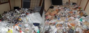 丹波市で4LDKの不用品回収のお客様写真