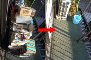 宝塚市内で雑誌など回収の写真