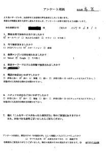 尼崎市にて不用品の回収 お客様の声