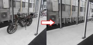 西宮市で単車回収の写真1
