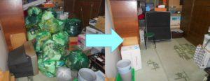 尼崎市内で、ブラウン管テレビ、衣類など回収のお客様の画像1