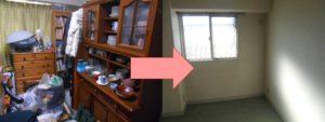 宝塚市で、冷蔵庫や食器棚など回収のお客様の画像2
