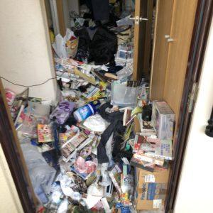 【姫路市】ゴミ屋敷からの不用品回収☆スピーディーな作業にご満足いただけました。