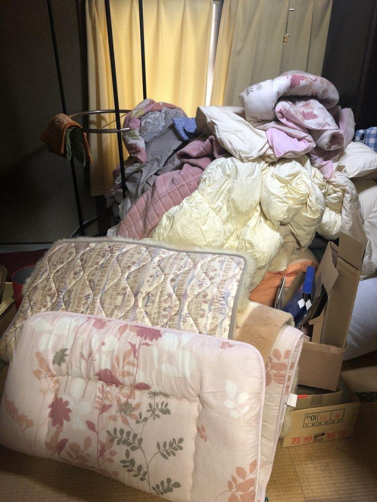 引越しの際に出る不用品(家具や仏壇)の回収ご依頼