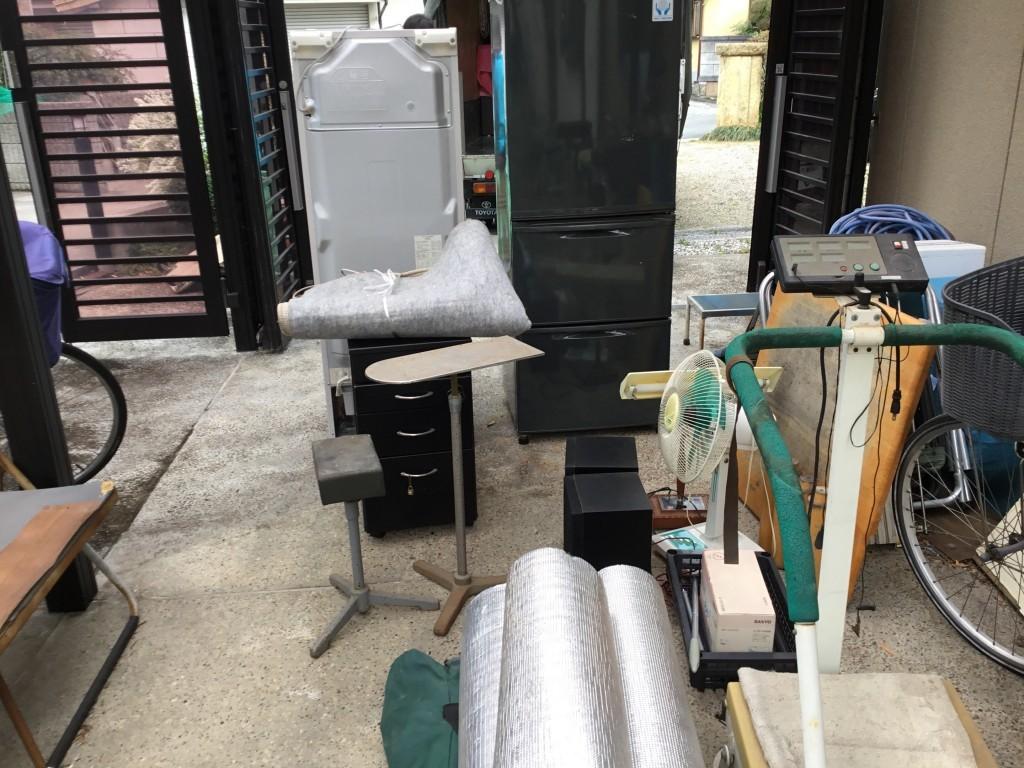 【尼崎市】軽トラ1台分の不用品出張回収・処分のご依頼 お客様の声