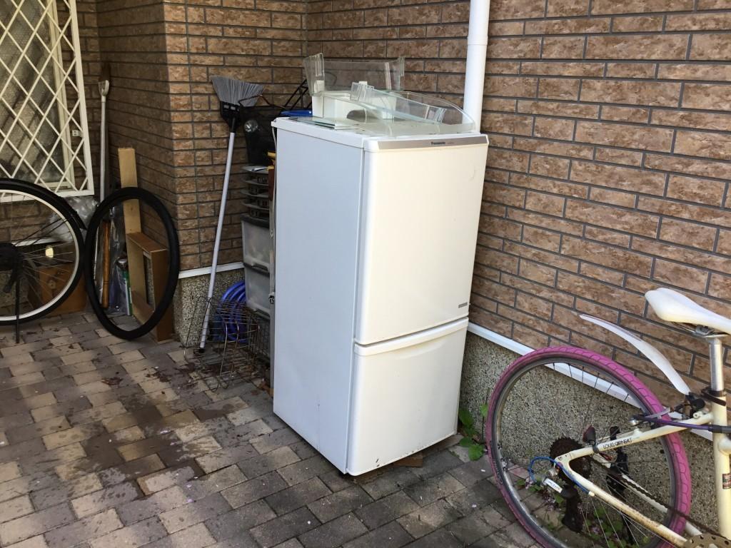 【西宮市段上町】冷蔵庫の回収ご依頼☆明朗料金と希望日回収にご満足いただけました!