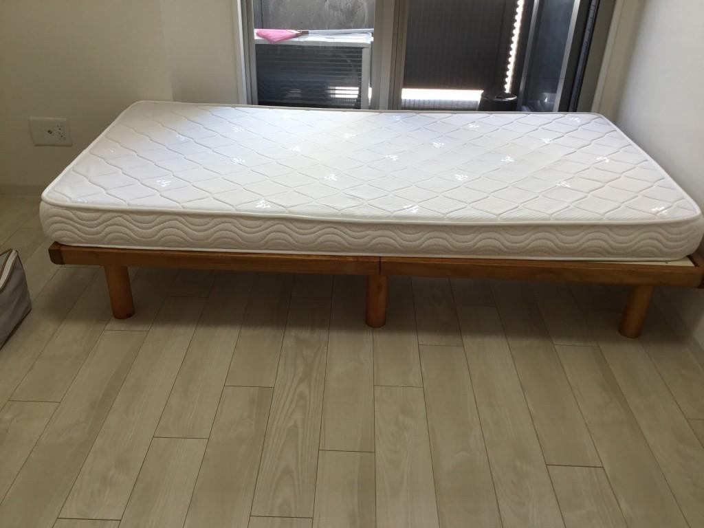 【神戸市中央区】シングルベッドなどの出張不用品回収・処分ご依頼