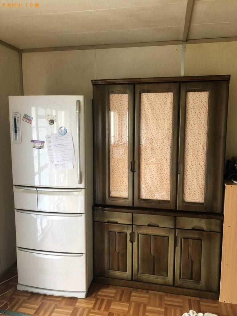 【三田市】冷蔵庫、洗濯機、タンスなど大量の出張不用品回収・処分ご依頼 お客様の声