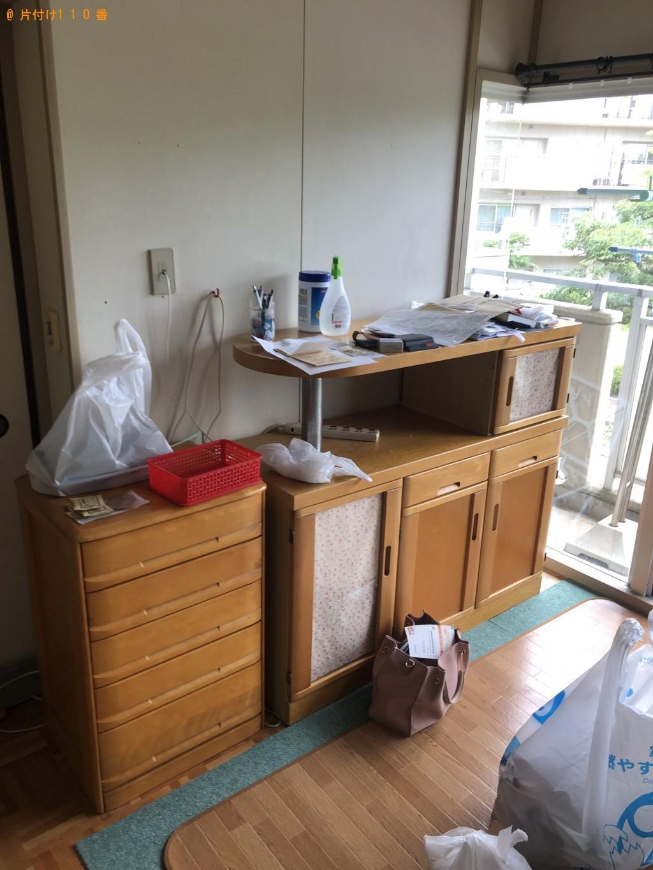 【三田市】冷蔵庫、洗濯機、タンスなど大量の出張不用品回収・処分ご依頼
