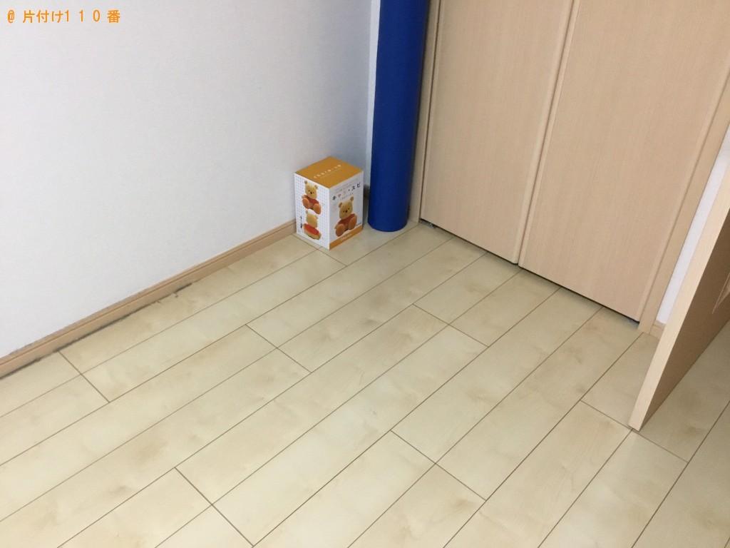 【神戸市長田区】ベッド、テレビ台の出張不用品回収・処分ご依頼
