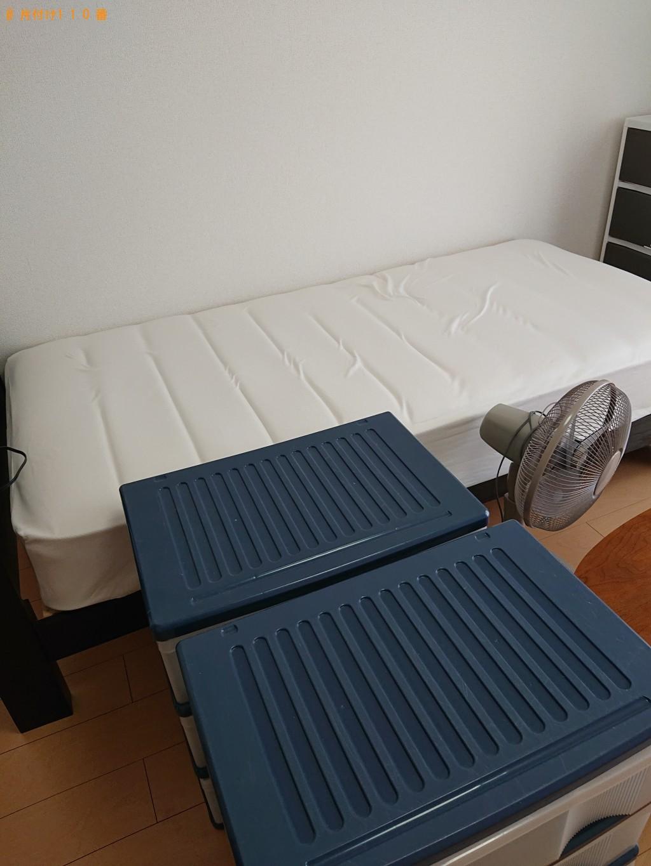 【木祖村】シングルベッド、ガスコンロ、衣装ケースの回収・処分 お客様の声