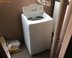 【神戸市兵庫区】洗濯機1点の回収・処分 お客様の声
