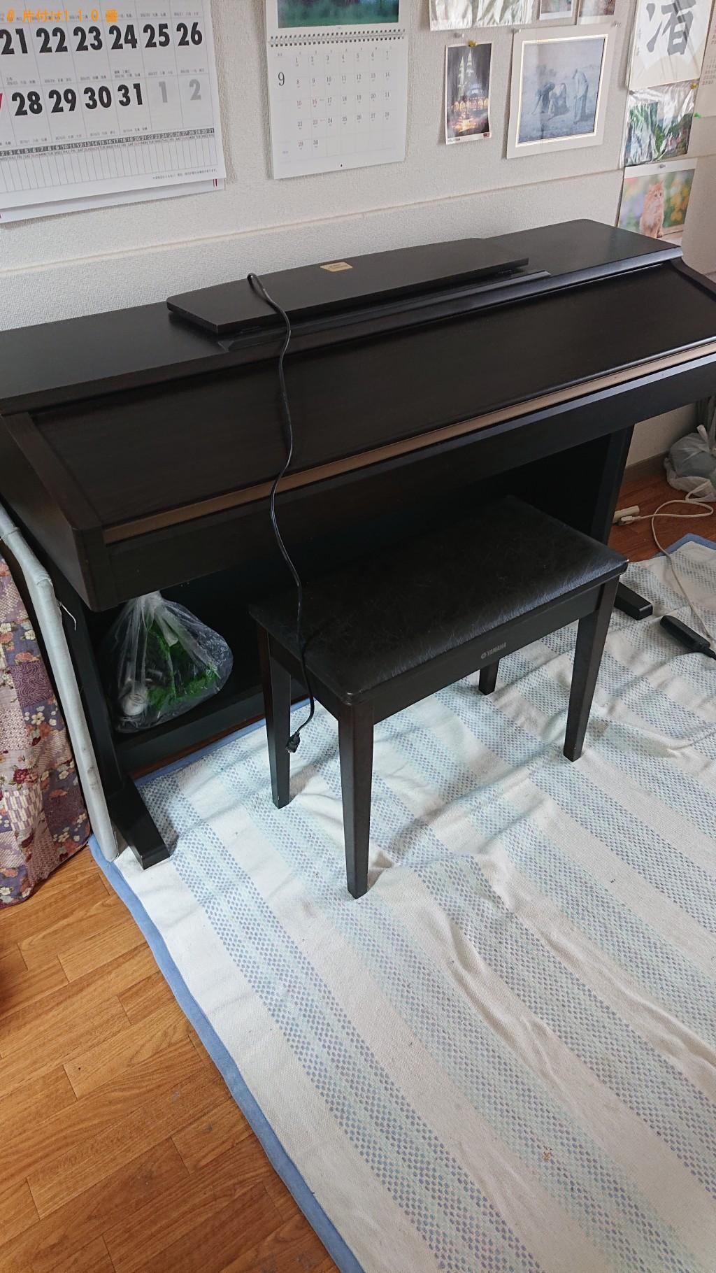【下川町】電子ピアノ1点の回収・処分 お客様の声