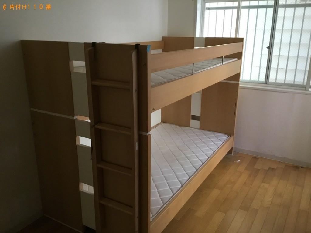 【神戸市中央区】2段ベッドと机回収のご依頼 お客様の声