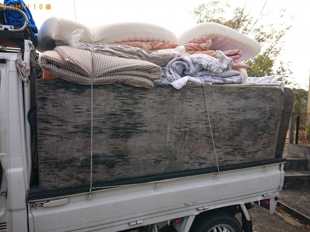 【尼崎市上ノ島町】軽トラック1台分の不用品回収 お客様の声