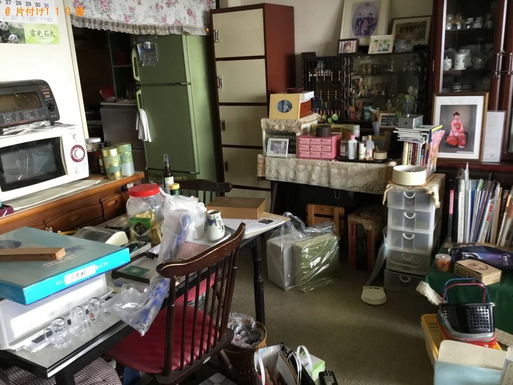 【青木村】テーブル、椅子、鉢植え、テレビ等の回収・処分ご依頼