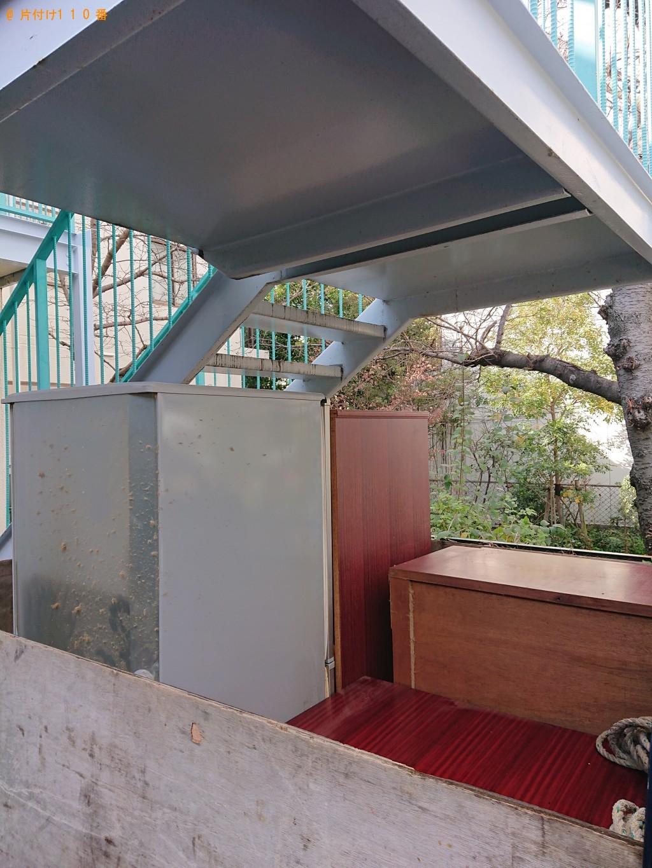 【原村】整理タンス、冷蔵庫、テレビ、テレビ台等の回収
