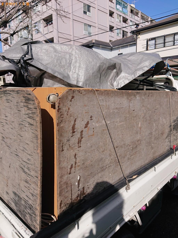 【西宮市鳴尾町】整理タンス、冷蔵庫、テレビ、テレビ台等の回収