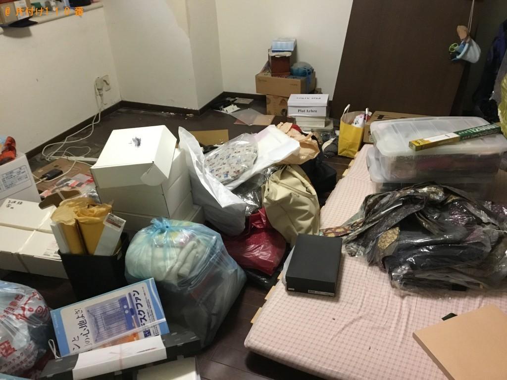 【神戸市東灘区】整理タンス、カゴ、ダンボール等の回収・処分ご依頼