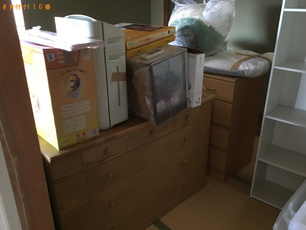 【尼崎市】冷蔵庫、エアコン、カウンターテーブル等の回収・処分