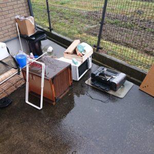 【丹波市春日町】電子レンジ、こたつ、スタンドミラーの回収・処分