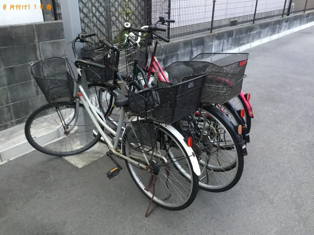 【西宮市大畑町】自転車の回収・処分ご依頼 お客様の声