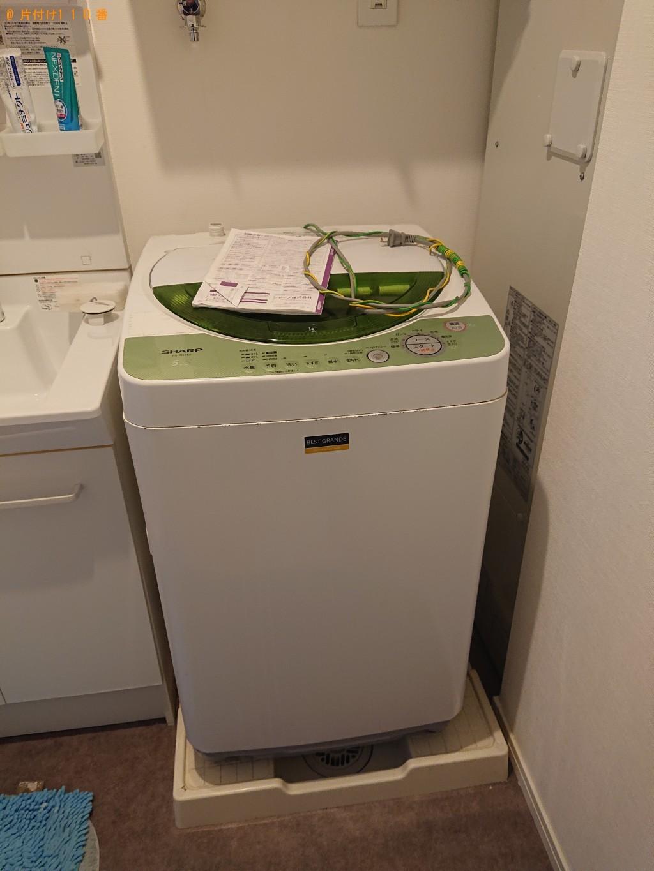 【神戸市東灘区】洗濯機、テレビ台の回収・処分ご依頼 お客様の声