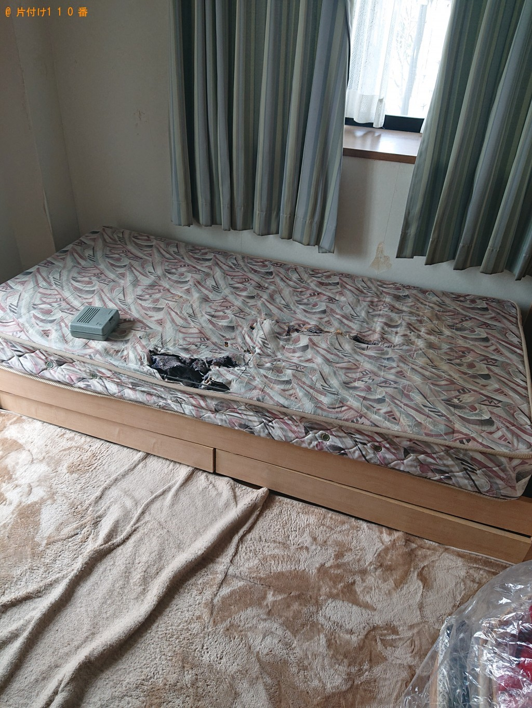 【宝塚市】シングルベッドの回収・処分ご依頼 お客様の声