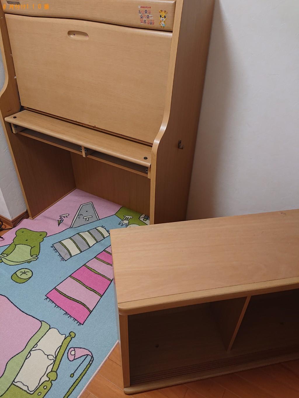 【宝塚市梅野町】二人用ダイニングテーブル、シングルベッド等の回収