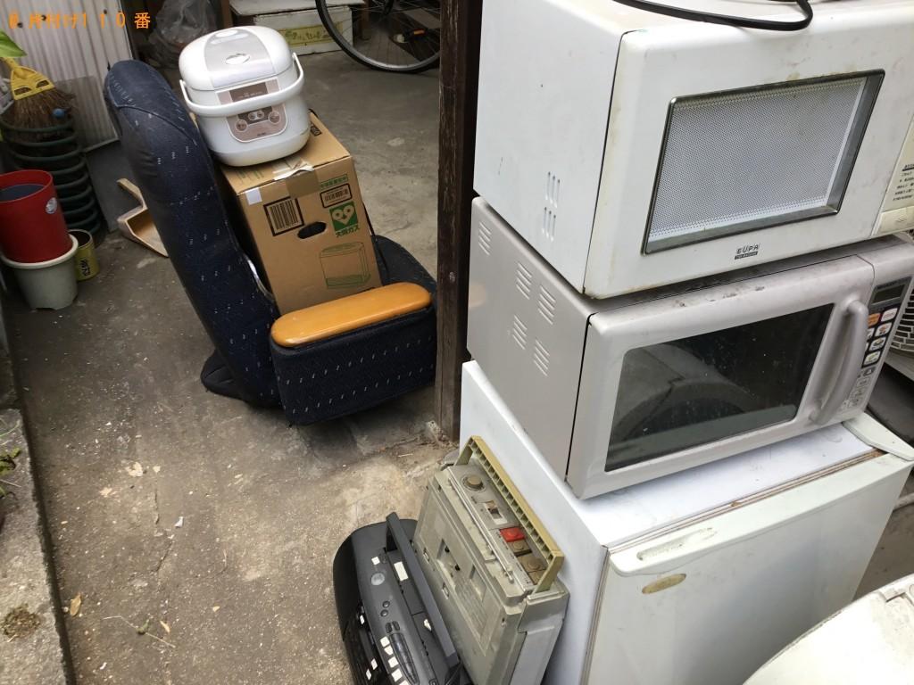 【尼崎市】冷蔵庫、洗濯機、衣装ケース、自転車、布団等の回収・処分