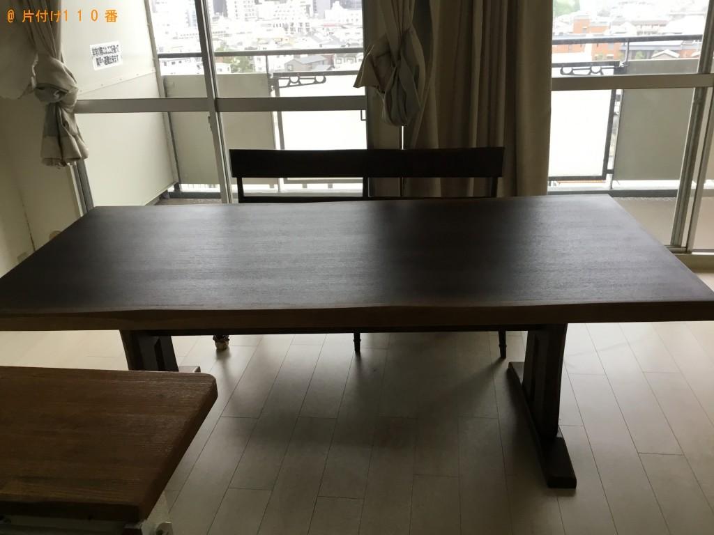 【厚真町】ダイニングテーブル、椅子の回収 お客様の声