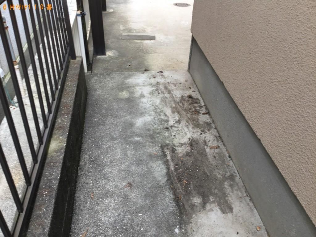 【神戸市西区】庭石の回収・処分ご依頼 お客様の声