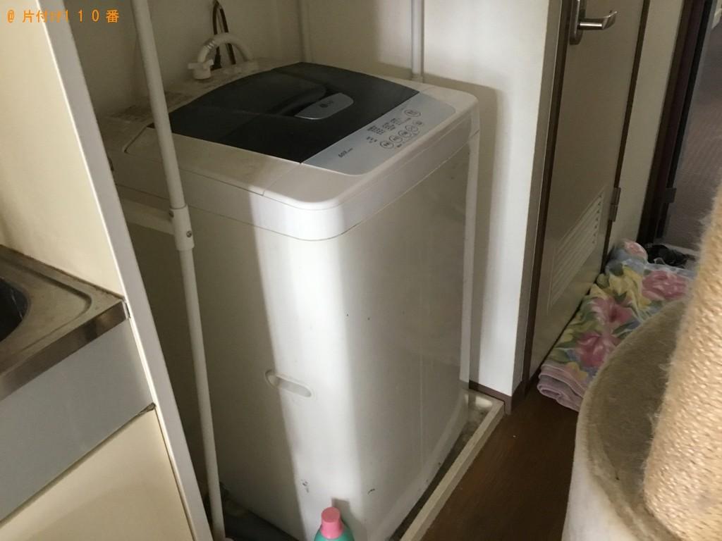 【尼崎市】洗濯機、シングルベッド、ベッドマットレス等の回収・処分