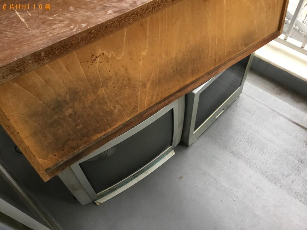 【神戸市長田区】冷蔵庫、テレビ、シングルベッド、自転車等の回収