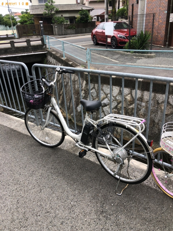 【西宮市樋之池町】自転車、子供用自転車の回収・処分ご依頼