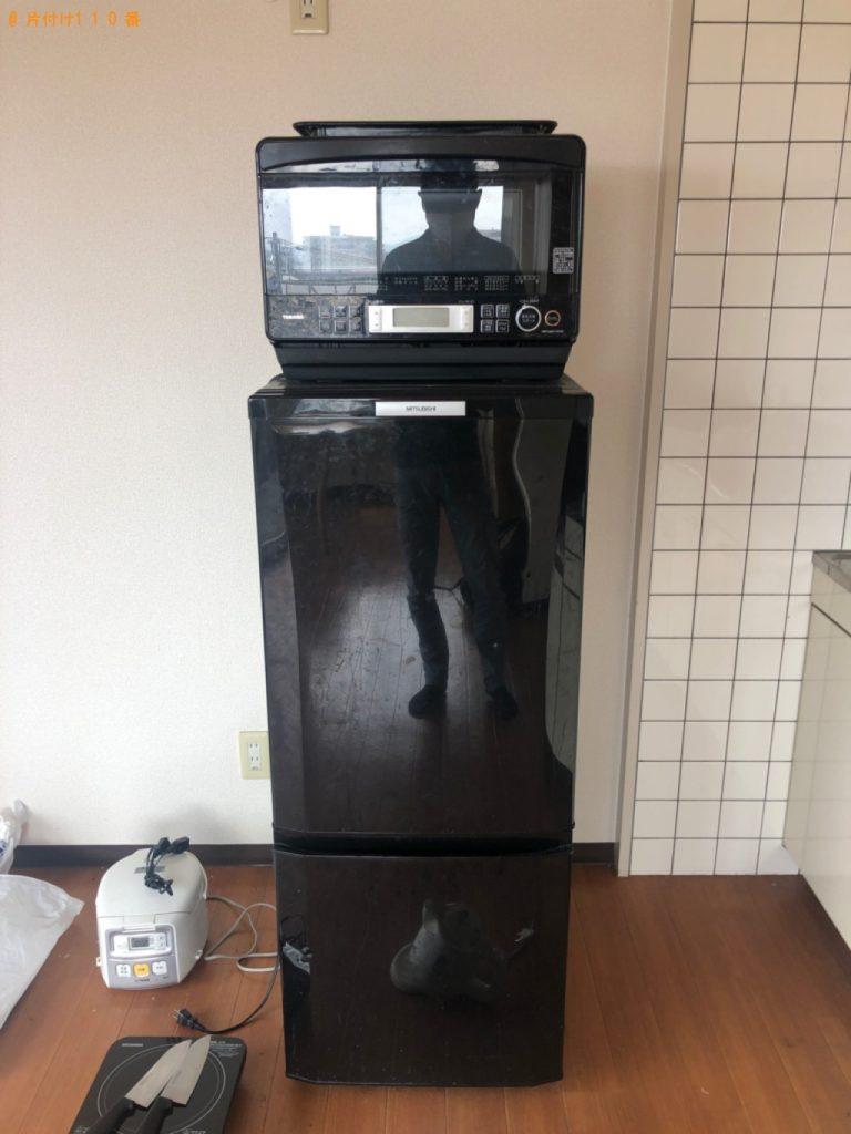 【蔵王町】冷蔵庫、電子レンジ、炊飯器等の回収・処分ご依頼