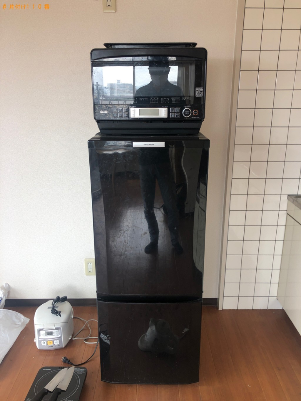 【姫路市飾磨区】冷蔵庫、電子レンジ、炊飯器等の回収・処分ご依頼