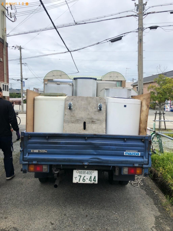 【姫路市】冷蔵庫、洗濯機、自動車タイヤ等の回収・処分ご依頼