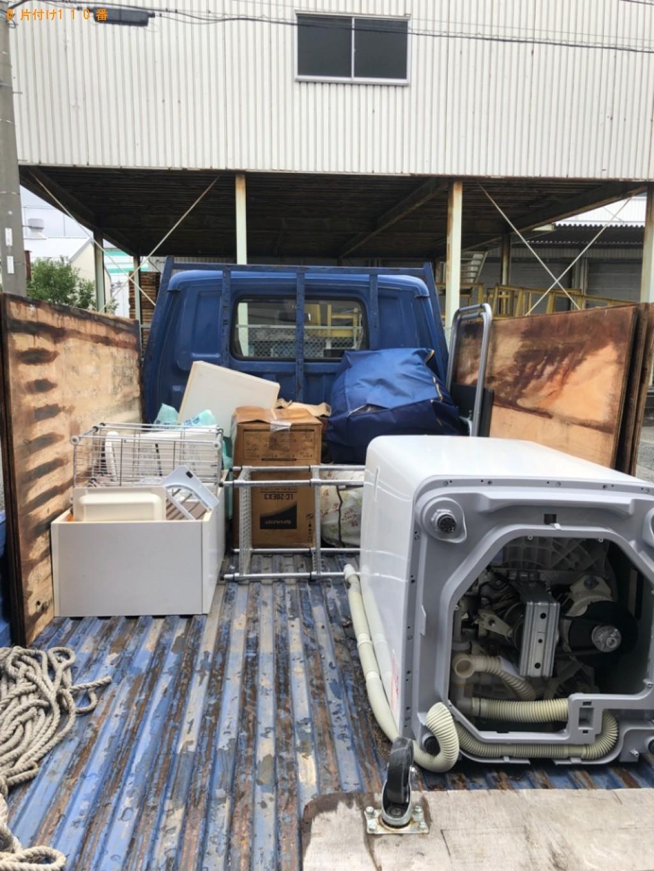 【姫路市中地南町】洗濯機、カラーボックス、座椅子等の回収・処分